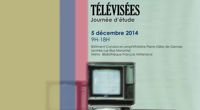 """Journée d'étude """"Auteurs / amateurs de séries télévisées"""" (Paris, 5 décembre 2014)"""