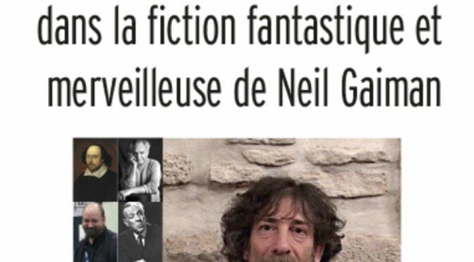 Parution : Neil Gaiman
