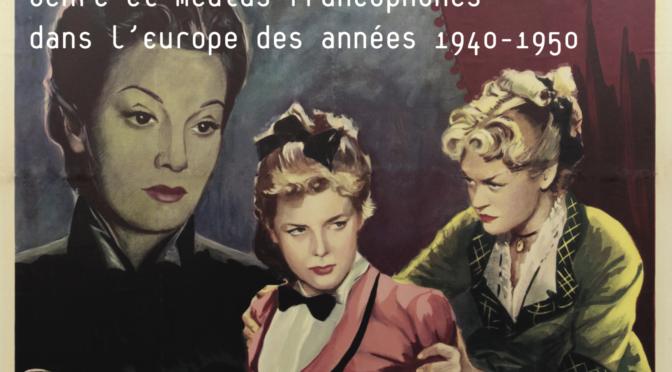 Colloque : genre et médias