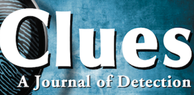 Appel à Propositions : Historical Crime Fiction, Theme issue of Clues: A Journal of Detection