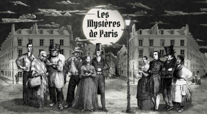 Les mystères de Paris adaptés en gravures animées